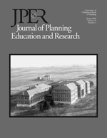 Journal of Planning Education and Research